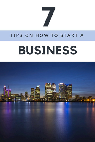 Startup tips for business