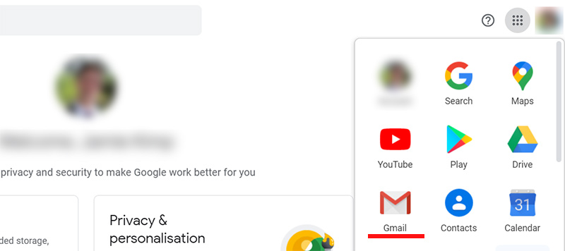 Setup an Email Address in Gmail