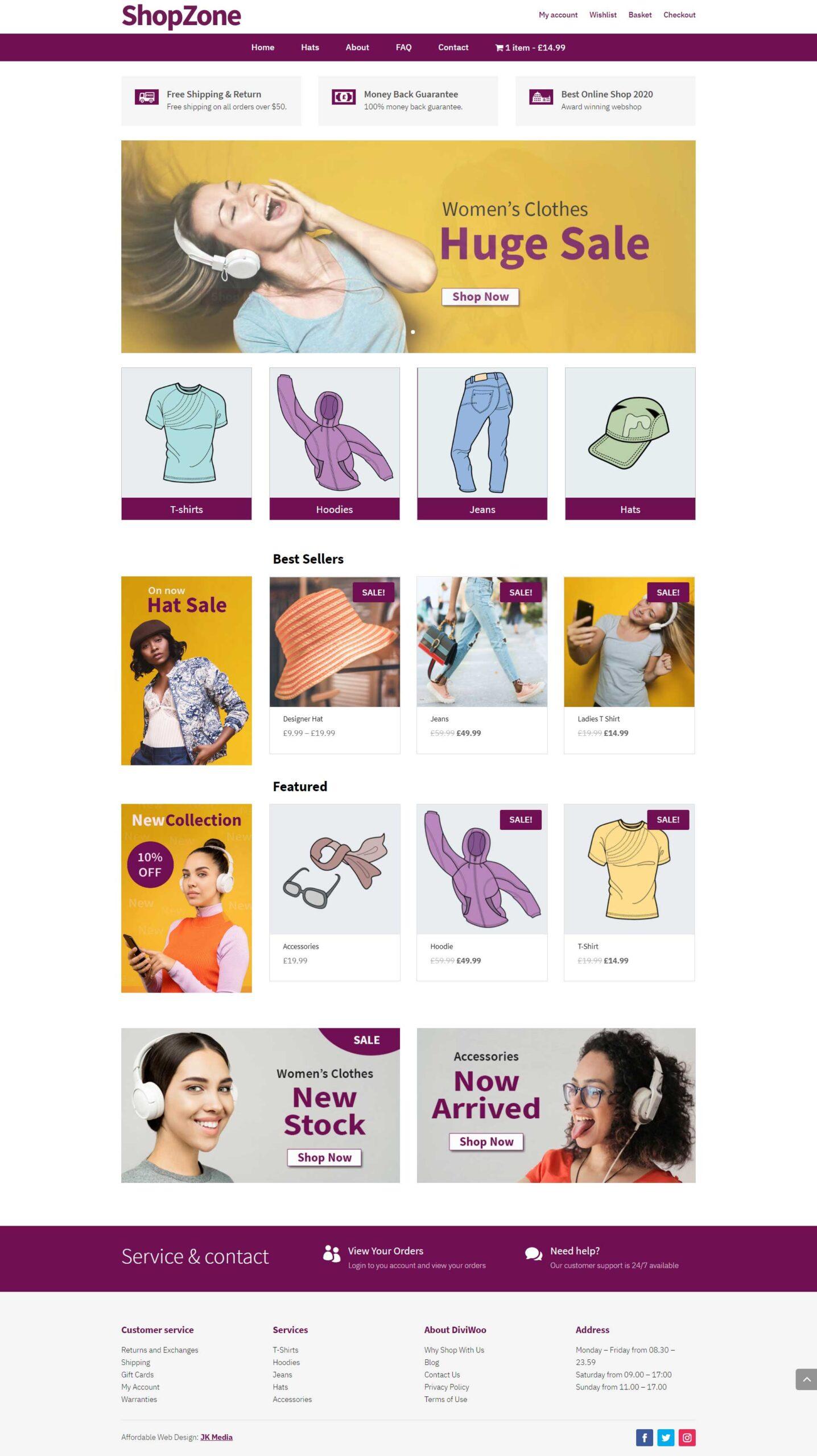 shop zone