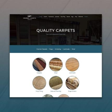 JK Media Web Design Carpet Shop
